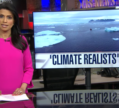 Heartland Institute President Joseph Bast appeared on the CBS Evening News on Earth Day, April 22, 2017