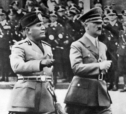 similarities between hitler and mussolini More in totalitarian governments: comparing tools and actions of totalitarian leaders (1073) introductory materials.