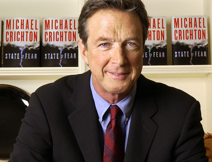Michael Crichton at https://www.heartland.org/topics/climate-change/Michael-Crichton-Is-Right/index.html