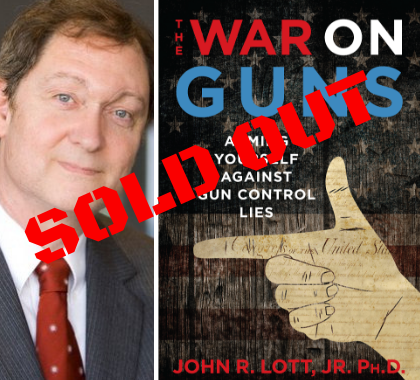 John Lott Event Sold Out